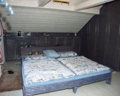 Rattanbett und Rattanbetten für Rattan-Schlafzimmer mit Rattan ...