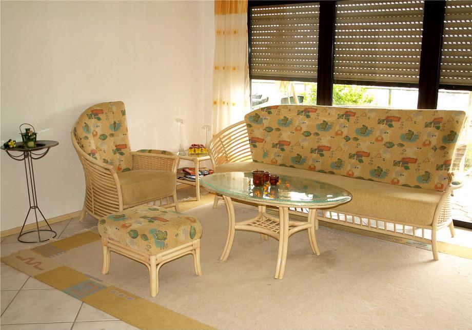 Rattan Wohnzimmer Modell: Wohnzimmer 26
