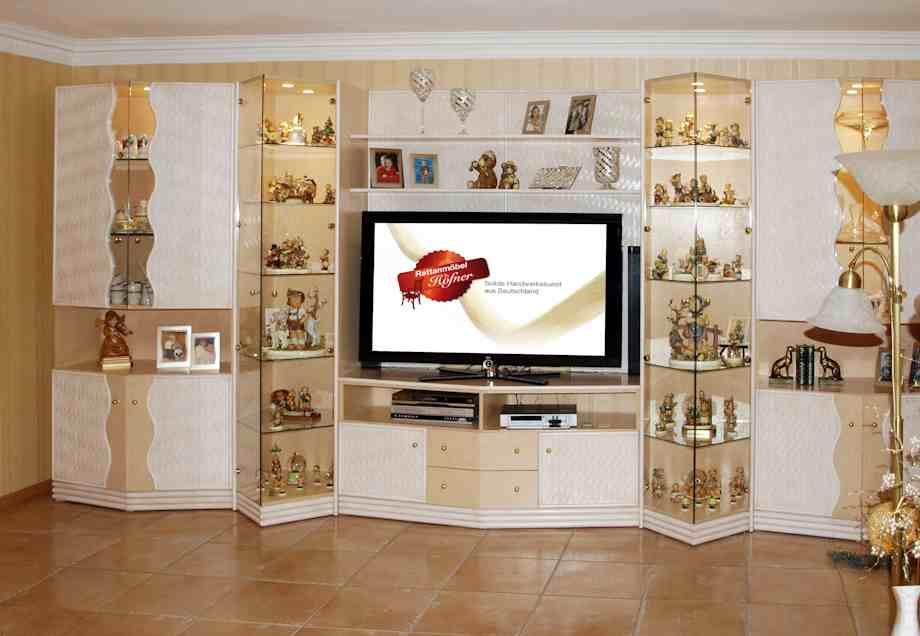 Rattan Sofas Für Rattan Wohnzimmer. Rattan Sitzgruppe Modell: Wohnzimmer 36  (Bild 1)