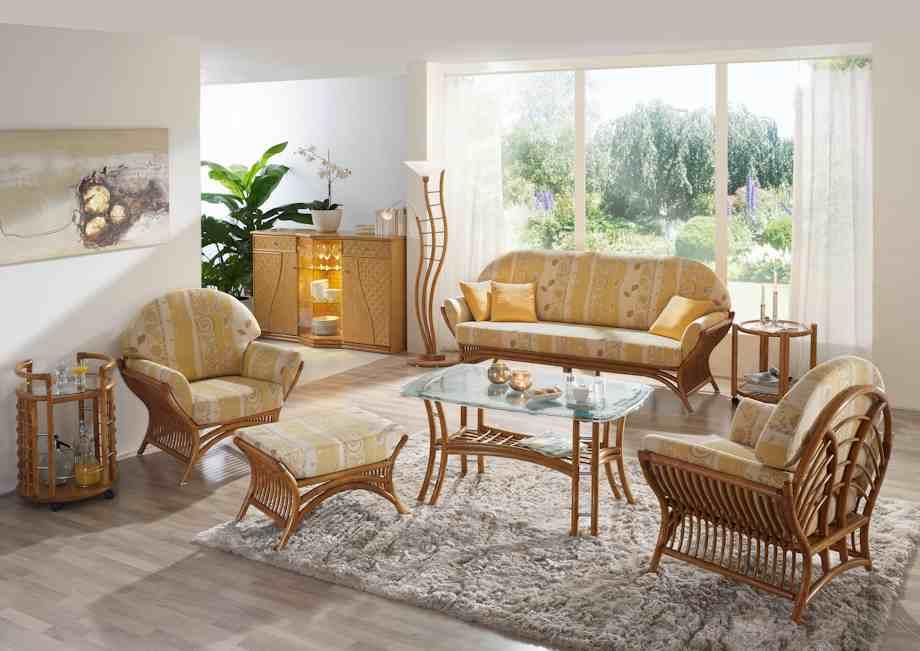 Rattan Wohnzimmer Modell: Wohnzimmer 39